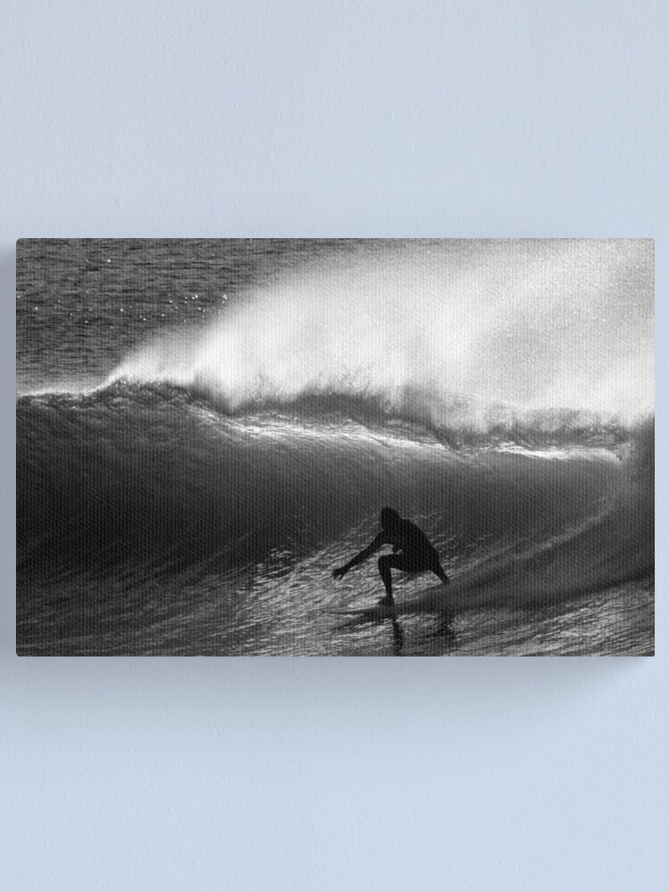 Alternate view of Dawn Surfer Canvas Print