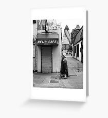 Bello Cafe Greeting Card