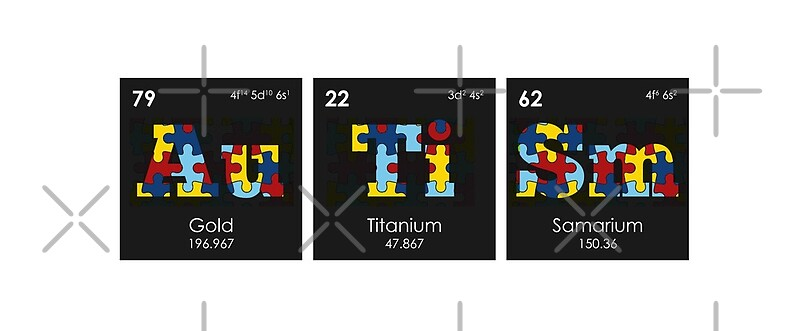 chemistry periodic table elements autism by thisonashirt - Periodic Table Autistic