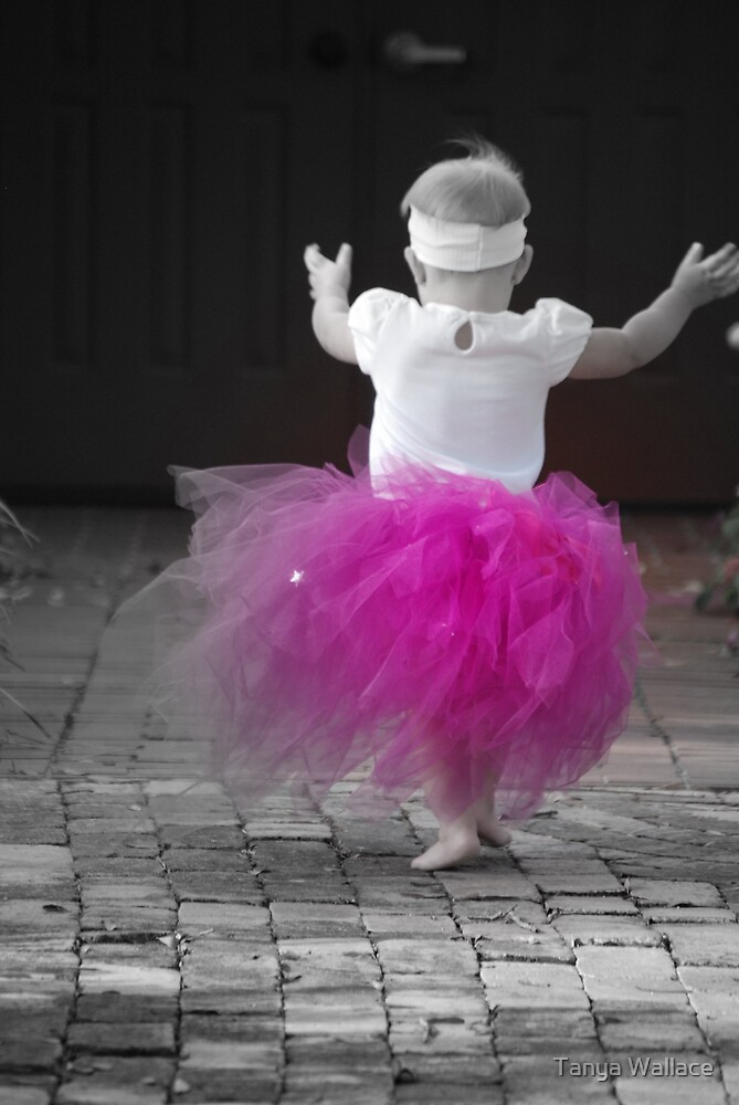 When I grow up I want to be a ballerina by Tanya Wallace