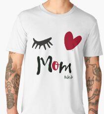 Eye-Love Mom Design Men's Premium T-Shirt