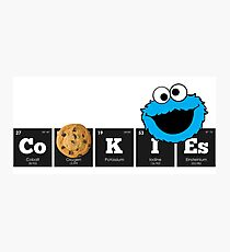 Chemistry - Periodic Table Elements: CoOKIEs Photographic Print