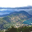 The Bay of Kotor by Elena Skvortsova