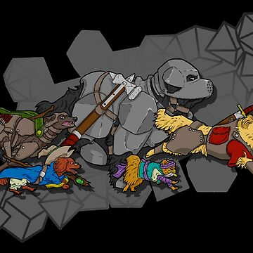 Dungeons & Dogs by explosivebarrel