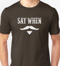 Camiseta ajustada Tombstone Quote - Say When
