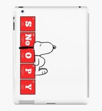 Chemistry - Periodic Table Elements: SNoOPY iPad Case/Skin