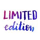 Limited Edition by Anastasiia Kucherenko