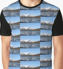 Looking Across Loch Linnhe at Fort William, Scotland Graphic T-Shirt