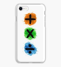 Plus Multiply Divide Album Watercolor iPhone Case/Skin