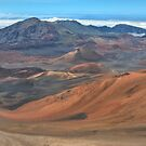 Haleakala Crater in widescape (1) by James Anderson