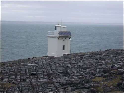 Lighthouse in Clare by pedanticnerd