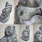 Sculpture 'Woman' by Sebastiaan Koenen