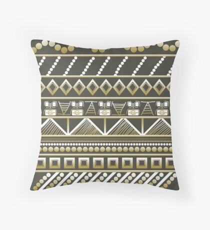 Complicated Tales Throw Pillow