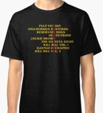 Quentin Tarantino films Classic T-Shirt