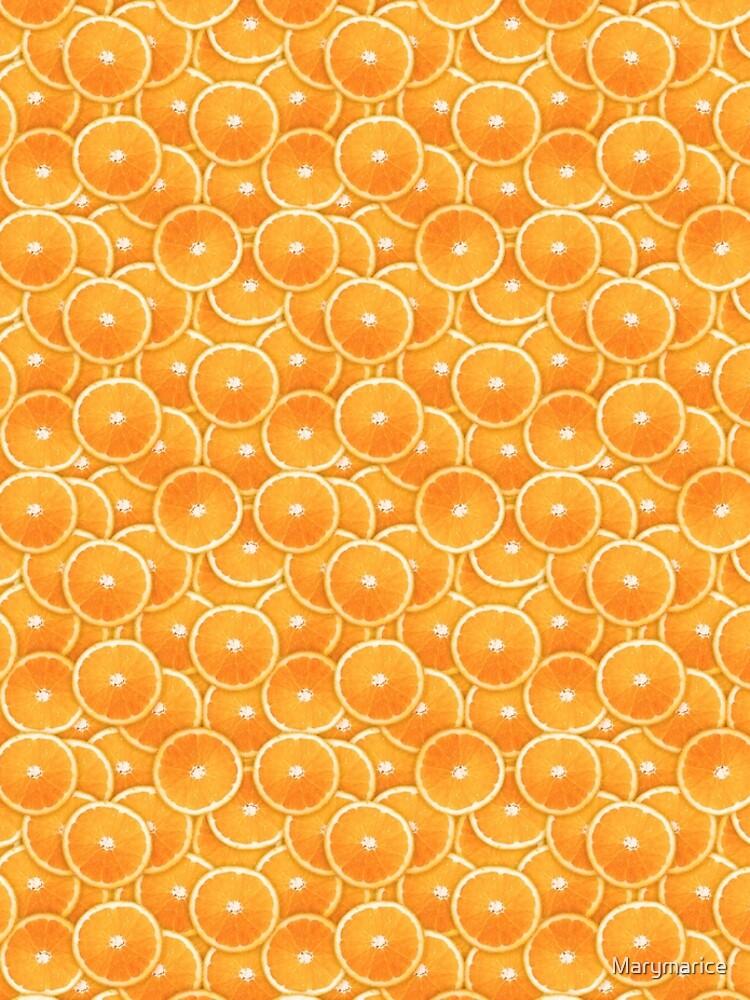 Orange Slice Digital Montage by Marymarice