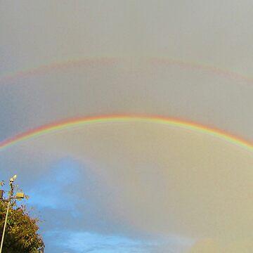 Double Rainbow  by lezvee