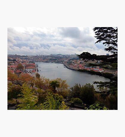 Porto River from the Palacio de Cristal Photographic Print