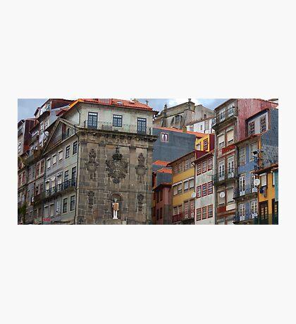 Buildings in Porto City Centre Photographic Print