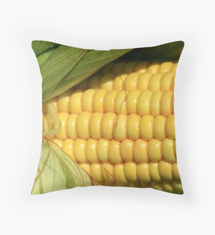 Kernels Throw Pillow