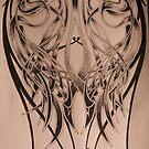 celtic full back tattoo commission by imajica