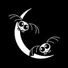 Cartoon Flying Bats by Gravityx9