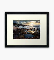 Jakes Point, Kalbarri Framed Print