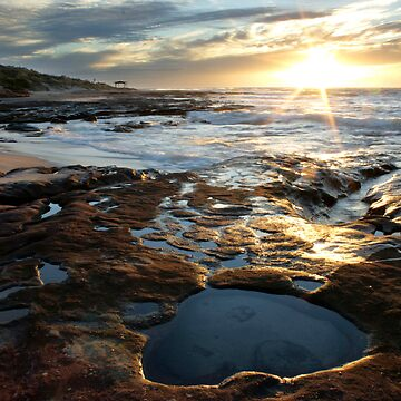 Jakes Point, Kalbarri by MiriamShilling