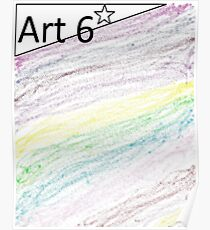 ary kids by kids 6 art Poster