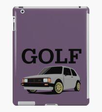 Volkswagen Golf Mk1 iPad Case/Skin