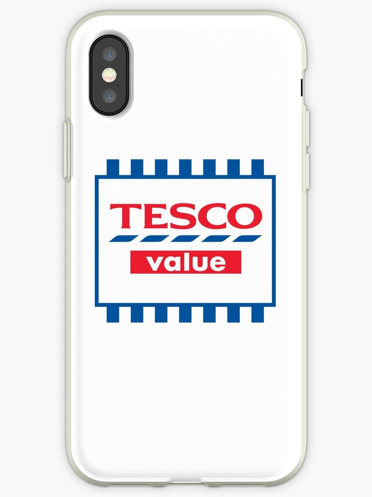 free shipping f087b 199ca 'Tesco Value' iPhone Case by williampp