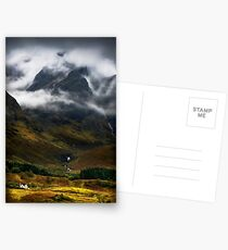 Blaven and malevolent weather. Isle of Skye, Scotland. Postcards