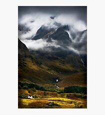 Blaven and malevolent weather. Isle of Skye, Scotland. Photographic Print