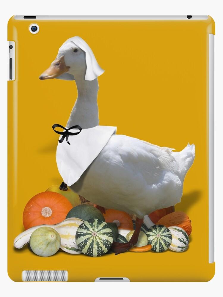 Thanksgiving Pilgrim Girl - Duck by Gravityx9