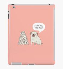 pug's love iPad Case/Skin