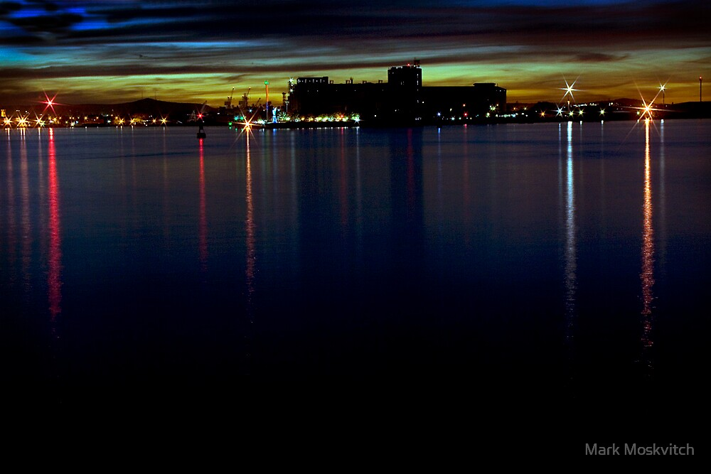 Newcastle Harbour II by Mark Moskvitch