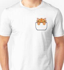 Ginger Tabby Pocket Cat T-Shirt