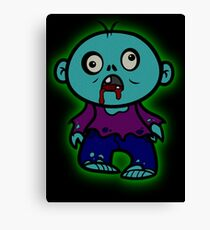 LITTLE ZOMBIE Canvas Print