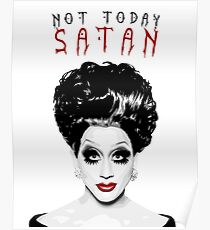 Bianca Del Rio, 'Not Today, Satan!' Drag Queen, RuPaul's Drag Race Poster