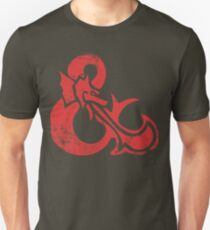 Ampersand - Dungeons & Dragons Retro Slim Fit T-Shirt
