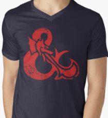 Ampersand - Dungeons & Dragons Retro Men's V-Neck T-Shirt