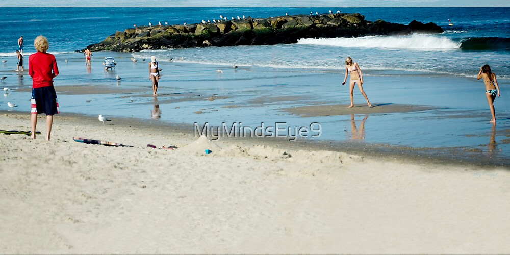 Beach Days by Mary Campbell