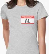 You Can Call Me Al Women's Fitted T-Shirt