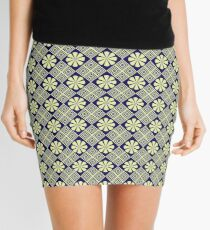 pattern 81 Mini Skirt