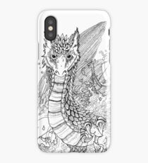 The Anglo-Saxon Dragon iPhone Case