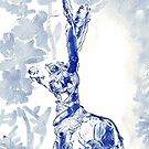 The Blu Hare by Bunny Clarke