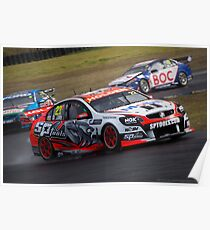 V8 Supercars - Sydney 400  2014 -  James Courtney - Holden Poster