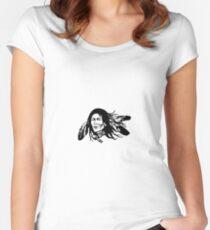 indian, native american, geek, nerd Women's Fitted Scoop T-Shirt