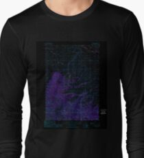USGS TOPO Map Idaho ID Sal Mountain 238009 1989 24000 Inverted T-Shirt