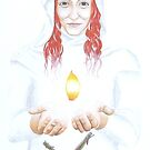 Goddess Brigid by NicPhillips