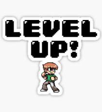 Level UP! Sticker